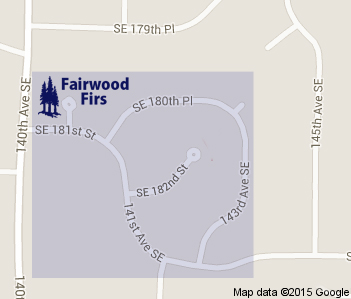 Fairwood Firs Google Map